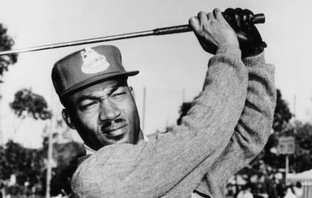 Charlie Sifford was the first African-American golfer to play in PGA sanctioned golfing events.