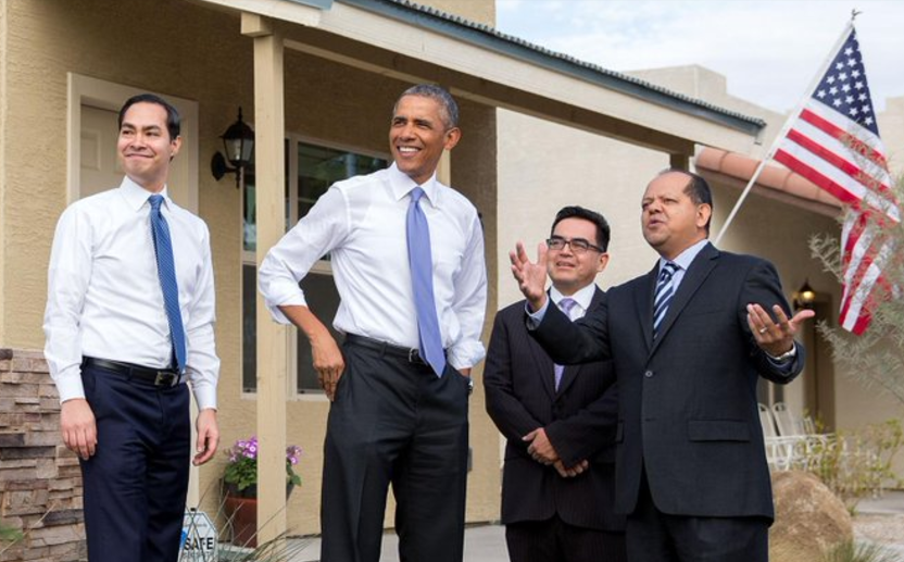 julian castro with obama