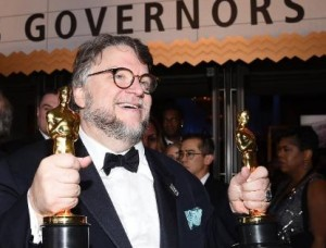 Guillermo del Toro became the third Mexican director to win best director.