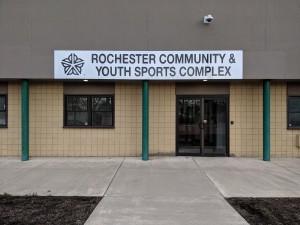 The soccer stadium on Oak Street is being transformed into a place for community sports and events. Provided by Rochester Area Community Foundation