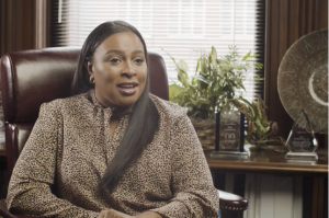 Mayor Lovely A. Warren unveils chapter three of the 2021 State of the City, discussing jobs for city families and the local economy as part of the Equity and Recovery Agenda. Photo screenshot of YouTube video.